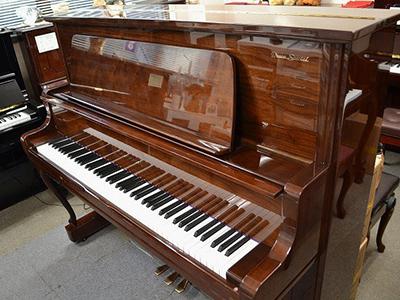 ローゼンストック中古ピアノ RS308CW アップライトピアノリフレッシュ済